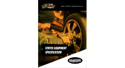 Tyre Stuff releases FORTIS Tyre Equipment brochure