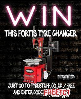 Win a Fortis Tyre Changer