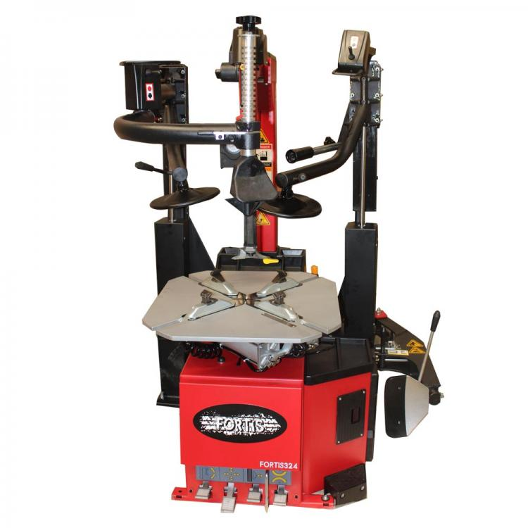 "26"" Fully Automatic Tyre Changer with twin assist arm"
