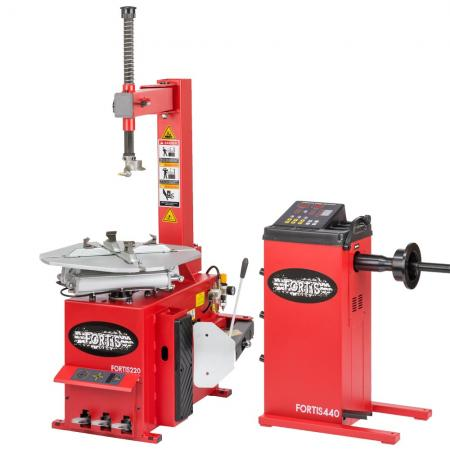 Semi-Automatic Tyre Machine and Balancer package