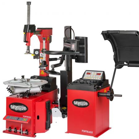 Fully-Automatic Tyre Machine and Balancer package